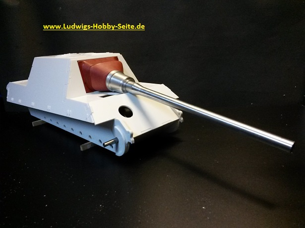 Jagdtiger Bausatz kit in 1 to 16