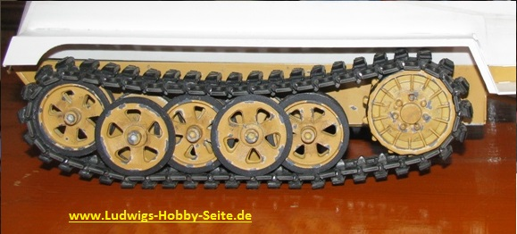 sdkfz 250 Roadweels 1:16